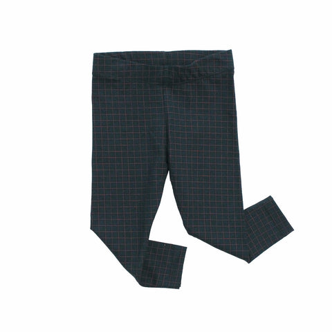 Tiny Cottons Unisex Medium Grid Pant Navy | BIEN BIEN