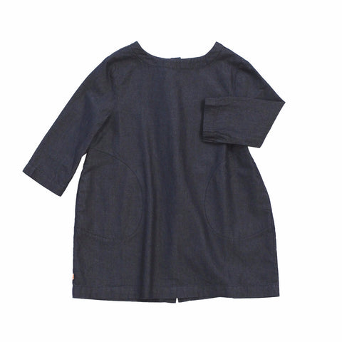 Tiny Cottons Girl's Denim Dress | BIEN BIEN