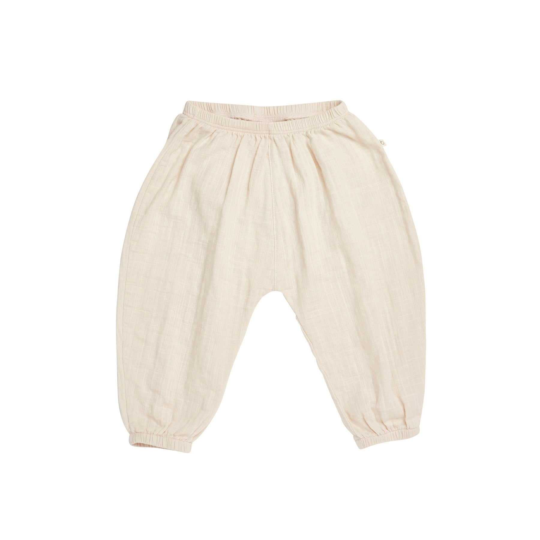 Bacabuche Lightweight Pant in Blush - Unisex Baby/Toddler | BIEN BIEN