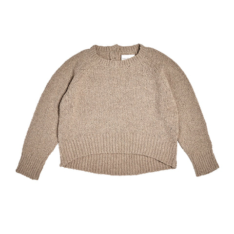 Bacabuche Wide Body Boucle Baby & Kid's Sweater Oatmeal | BIEN BIEN