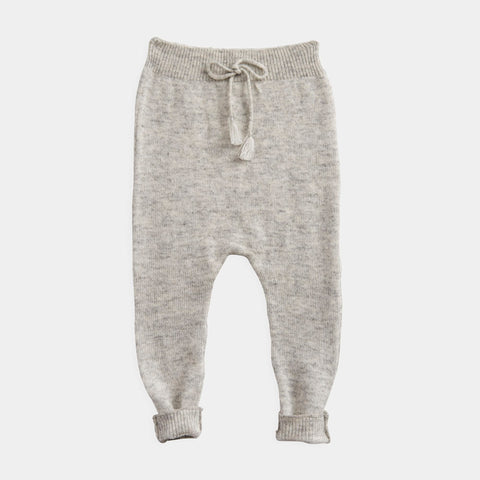 Belle Enfant Cashmere Baby Legging in Grey | BIEN BIEN
