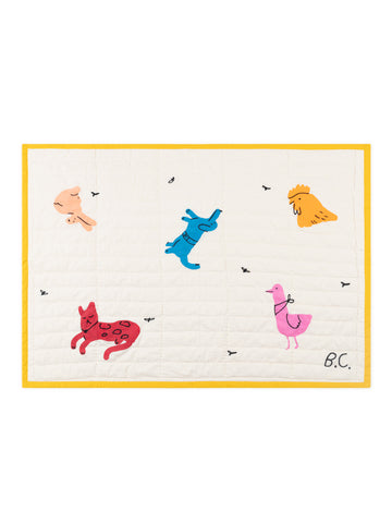 Bobo Choses Quilted Animals Baby Blanket Cotton | BIEN BIEN | www.bienbienshop.com