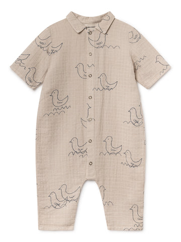 Geese Baby Playsuit
