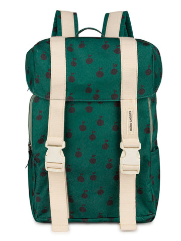 Bobo Choses Apples Unisex Kid's Backpack Green | BIEN BIEN