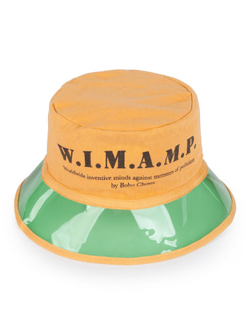 Bobo Choses WIMAMP Kid's Sun Hat in Yellow/Green | BIEN BIEN