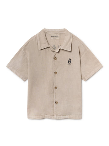 Bobo Choses Hawaiana Kid's Organic Cotton Buttondown Shirt| BIEN BIEN | www.bienbienshop.com