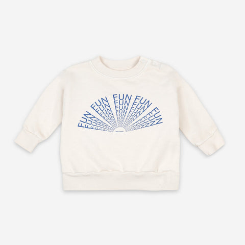 Bobo Choses Fun Capsule Baby Sweatshirt White/Blue