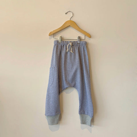 Boy+Girl Kid's Harem Pant Heather Grey | BIEN BIEN www.bienbienshop.com