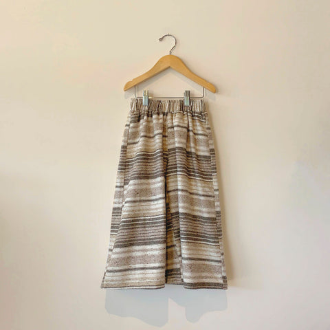 Boy+Girl Siena Kid's Culotte Pant Brown Stripe | BIEN BIEN www.bienbienshop.com