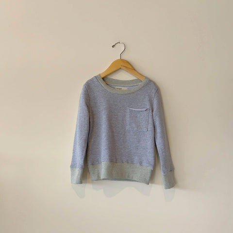Boy+Girl Kid's Crew Sweatshirt Heather Grey | BIEN BIEN www.bienbienshop.com