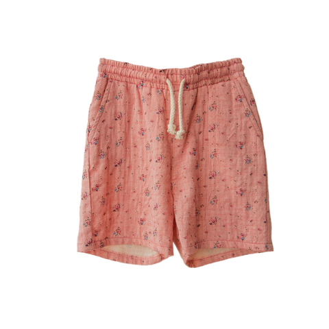 boy+girl James Unisex Kid's Short in Rose | BIEN BIEN