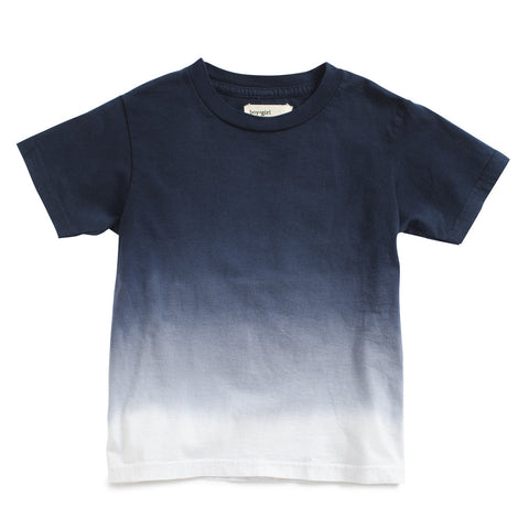 boy+girl Dash Organic Unisex T-shirt Lapis