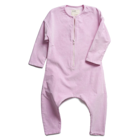 boy+girl Kids Harem Jumpsuit in Candy Pink Corduroy