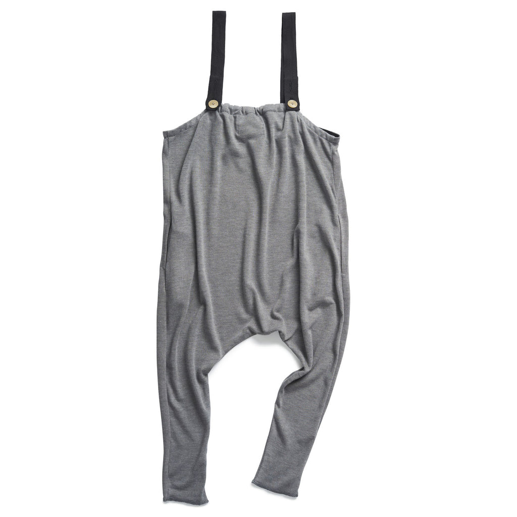 boy+girl Girls Indi Overall in Heather Grey