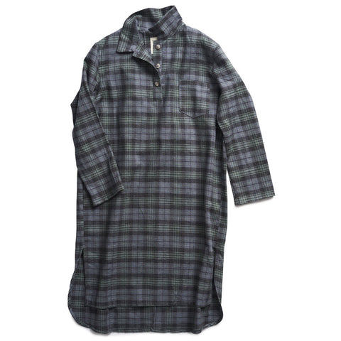 boy+girl Amelie Dress in Green/Charcoal Plaid | BIEN BIEN