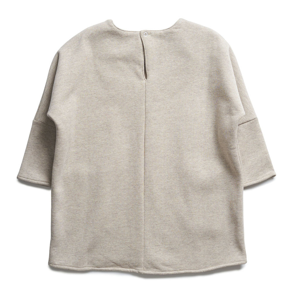 boy+girl Fleece Charlotte Dress in Oatmeal