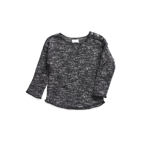 Buho Ciryl Baby Sweater in Tweed
