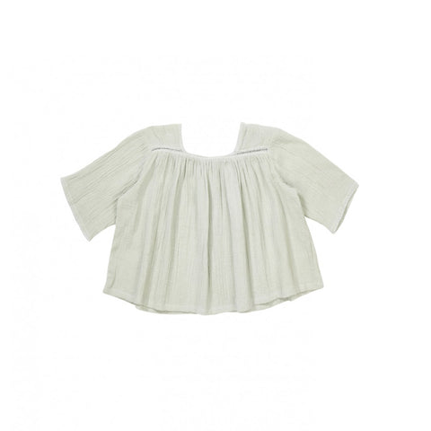 Caramel London Rupa Baby Girl Blouse in Egret | BIEN BIEN