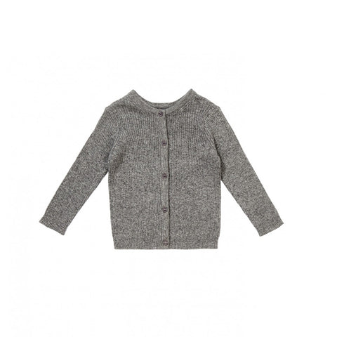 Caramel London Aylmer Baby Cardigan in Charcoal | BIEN BIEN