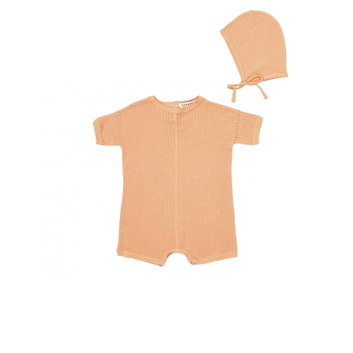 Caramel London Seneca Baby Gift Set in Coral Pink | BIEN BIEN