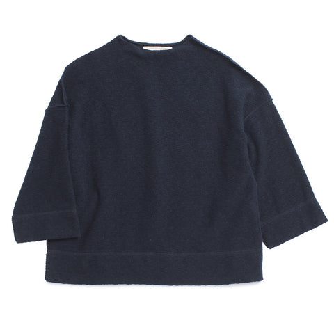 Caramel Baby & Child Cumin Unisex Top Navy Fleece