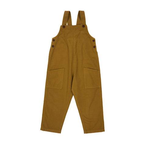 Caramel Hampstead Kid's Dungaree Opaline Green Cotton | BIEN BIEN www.bienbienshop.com