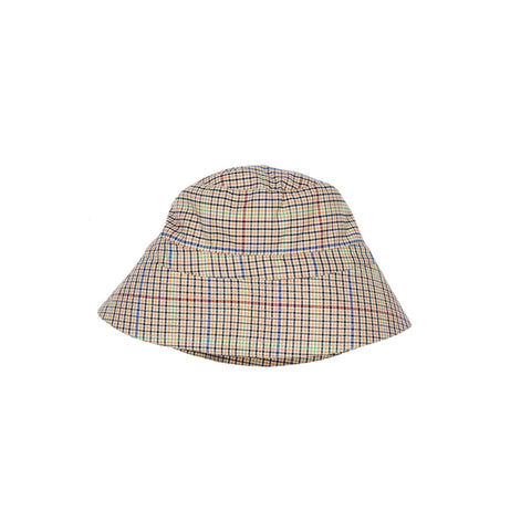Caramel London Ada Kid's Hat Beige Check | BIEN BIEN www.bienbienshop.com