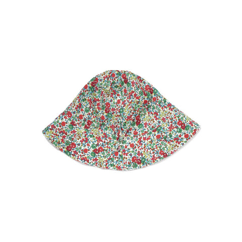 Caramel Melon Kid's Sunhat in Green Liberty | BIEN BIEN