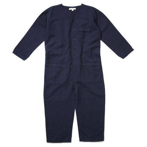 Caramel Soko Kid's Jumpsuit in Dark Denim | BIEN BIEN