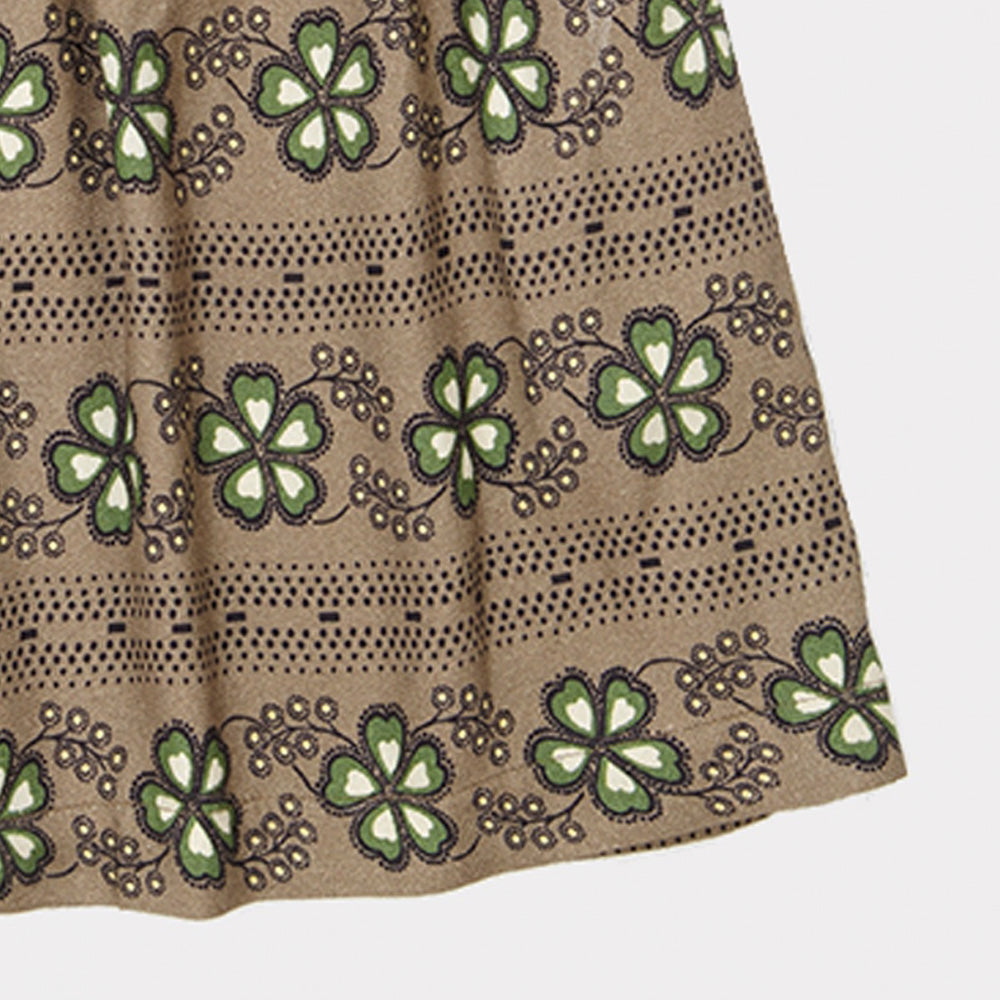 Caramel London Aetna Kid's Skirt Polka Flower Putty | BIEN BIEN www.bienbienshop.com
