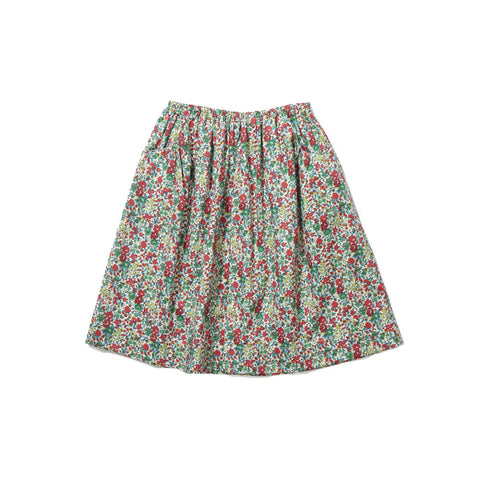 Caramel Celtuce Girl's Skirt in Green Liberty | BIEN BIEN