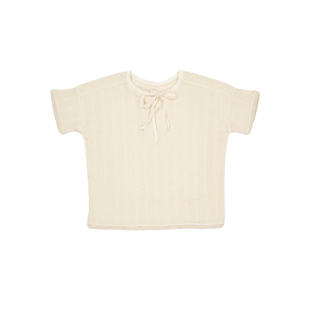 Caramel London Clover Kid's T-Shirt Cream | BIEN BIEN www.bienbienshop.com