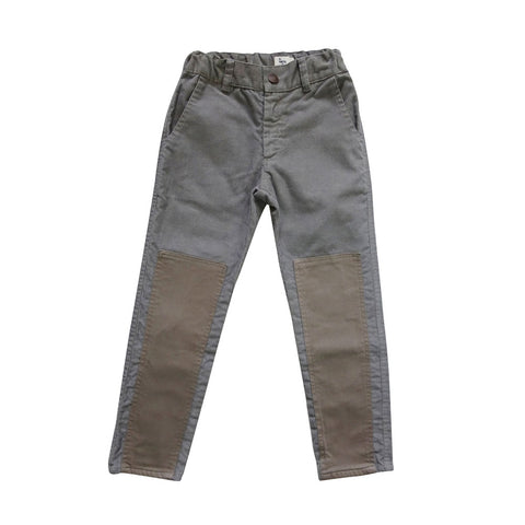 Nico Nico Dash Kid's Cord Jeans in Medium Grey/Taupe | BIEN BIEN