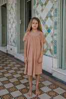 NEW We Are Kids Jeanne Kid's Terry Dress Sunkiss | BIEN BIEN bienbienshop.com