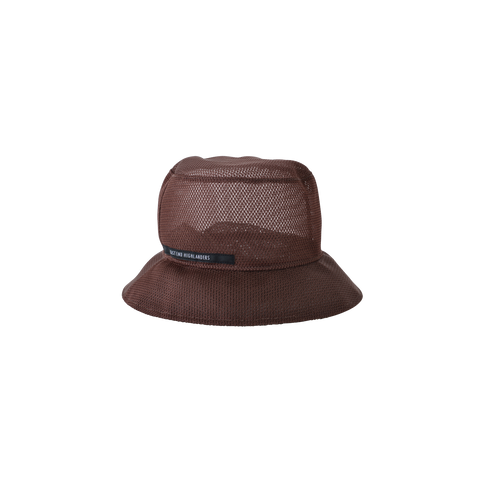 East End Highlanders Mesh Kid's Bucket Hat Brown | BIEN BIEN www.bienbienshop.com