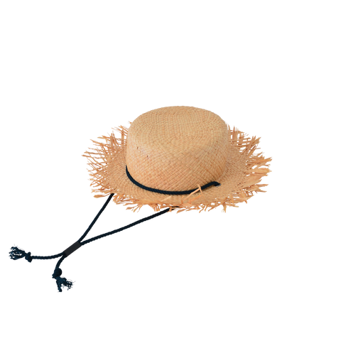 East End Highlanders Flutter Kid's Raffia Straw Hat | BIEN BIEN www.bienbienshop.com