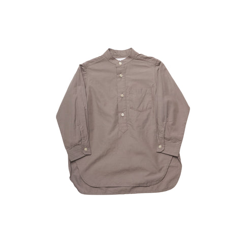 East End Highlanders Band Collar Kid's Long Shirt Grey | BIEN BIEN www.bienbienshop.com