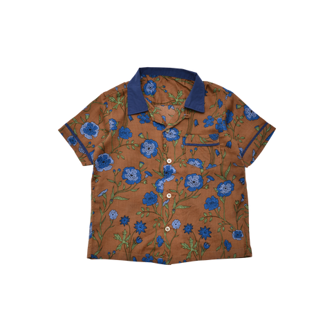 East End Highlanders Bowling Aloha Kid's Buttondown Shirt | BIEN BIEN www.bienbienshop.com