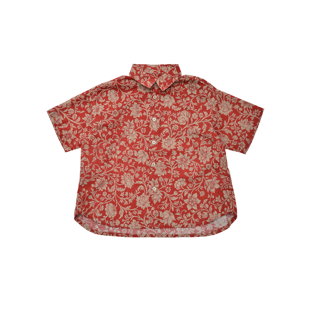 East End Highlanders Loosely Aloha Kid's Buttondown Shirt | BIEN BIEN www.bienbienshop.com