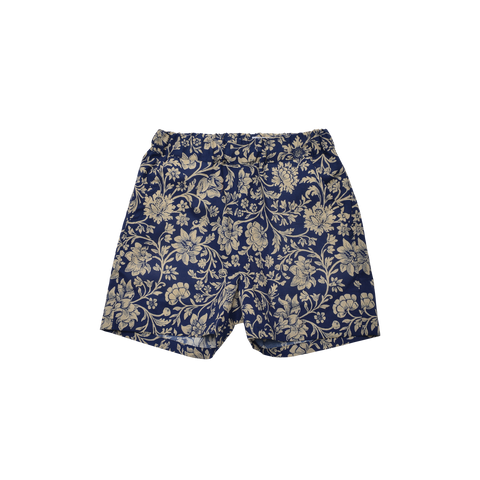 East End Highlanders Resort Kid's Shorts Navy Floral | BIEN BIEN www.bienbienshop.com