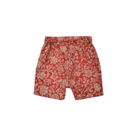East End Highlanders Resort Kid's Shorts Red Floral | BIEN BIEN www.bienbienshop.com
