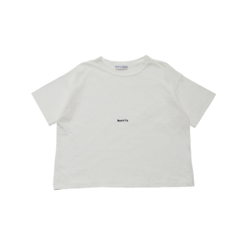 East End Highlanders Small Bonito Kid's T-Shirt White/Black | BIEN BIEN www.bienbienshop.com