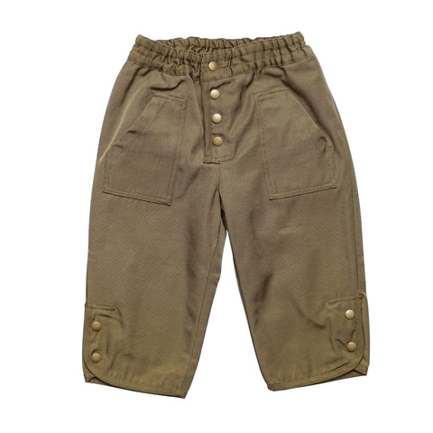 East End Highlanders Kid's Military Pant Olive | BIEN BIEN www.bienbienshop.com