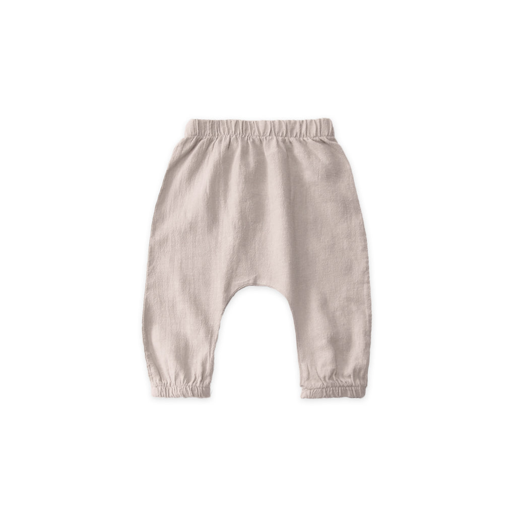 Go Gently Nation Woven Unisex Baby Pant Sandstone | Organic | BIEN BIENGo Gently Nation Woven Baby Pant Sandstone | Organic Cotton | BIEN BIEN www.bienbienshop.com