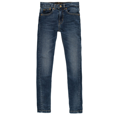 Finger in the Nose Icon Sim Fit Jeans in Dirty Blue | BIEN BIEN
