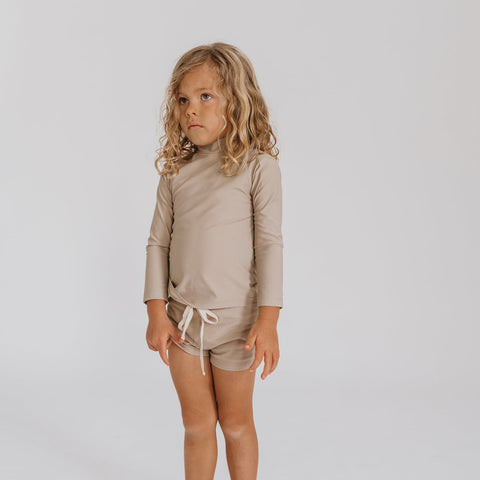 Illoura the Label Sol Rashie Long Sleeve Swim Top Baby Kid | BIEN BIEN bienbienishop.com