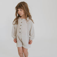 Illoura the Label Husk Romper Off-White Baby & Kids | BIEN BIEN