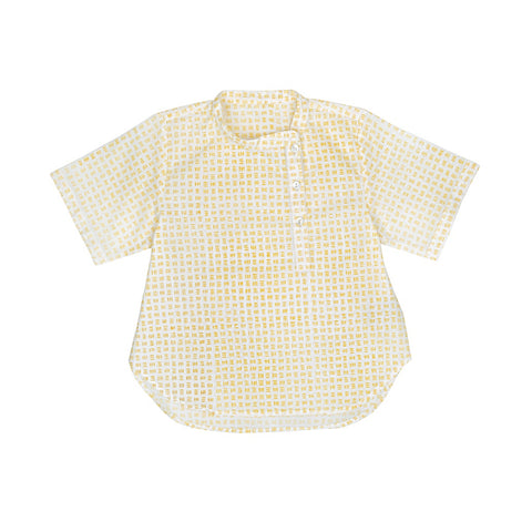 Ketiketa Vadim Baby & Kid's Shirt in Yellow Dash | BIEN BIEN