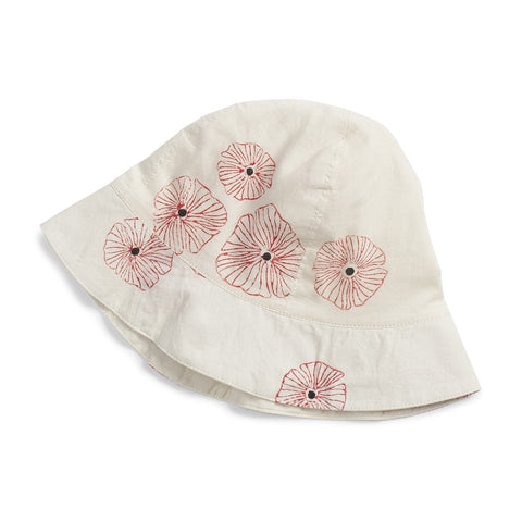 Ketiketa Baby Sun Hat Red Poppies