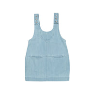Ketiketa Ondine Kid's Organic Jean Dress Light Denim | BIEN BIEN www.bienbienshop.com